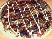 Okonomiyaki avec touche sésame...