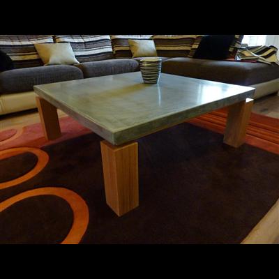 la notori t r cente du mobilier en b ton cir gr ce la. Black Bedroom Furniture Sets. Home Design Ideas