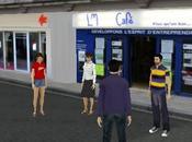 Poitiers première diffusion d'un événement réel l'univers virtuel lundi février.
