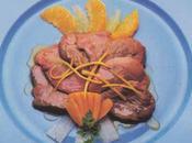 Foie gras aiguillettes canard citrons oranges