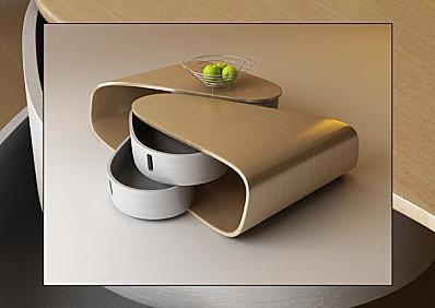 Une table basse design et pratique voir for Table de salon originale