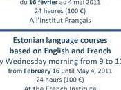 Tallinn Cours d'Estonien l'Institut Français