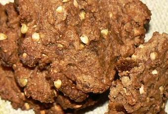 cookies di t tiques aux graines de sarrasin farine de kamut et caroube paperblog. Black Bedroom Furniture Sets. Home Design Ideas