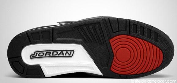 Jordan Flight 45 High Black Gym Red Cement Gray : Air jordan flight high white varsity red black cement