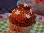Cupcake choco-crème marron noisette