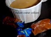Coulant caramel coeur collant