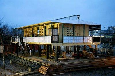 Maison tropicale de jean prouv londres paperblog - Maison tropicale prouve ...