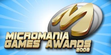 Votez pour les Micromania Games Awards 2008