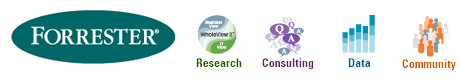 Logo Forrester research