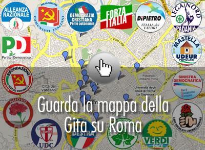 randonnée politique sur Rome, rome, rome en images, italie