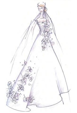 Comment Dessiner Une Robe De Mariee