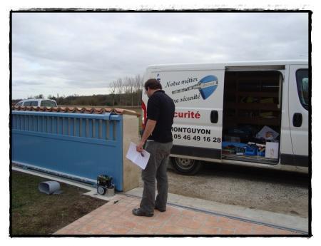 La motorisation du portail 25 f vrier 2011 paperblog for Enlever l electricite statique