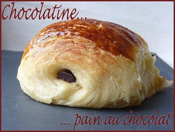 Pain au chocolat ou chocolatine maison paperblog - Pain au chocolat maison ...
