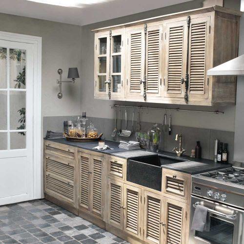 Maison du monde se lance dans les cuisines et moi j 39 adore - Ilot cuisine maison du monde ...