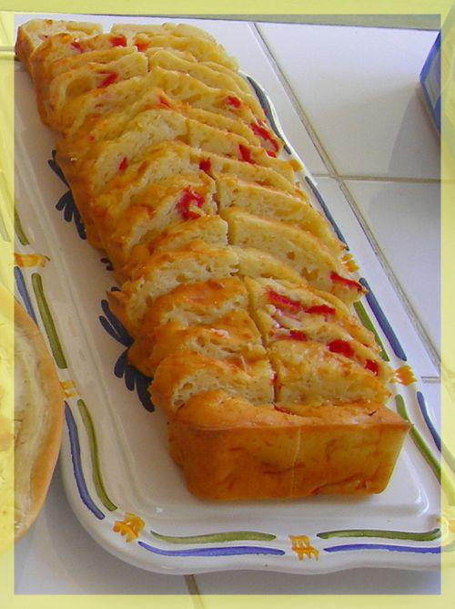 Cake Apero Lardons Thermomix