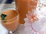 Milkshake Abricots Melons