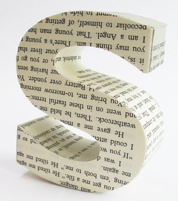 Lettres d coratives en 3d voir - Pot en 3 lettres ...