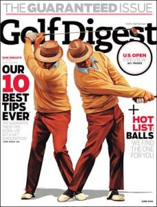 Couverture de Golf Digest