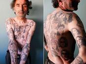 Chilien recouvert tatouages Julia Roberts