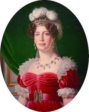 La duchesse d'Angoulême