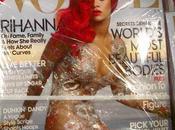 Rihanna pose Chanel couverture Vogue américain mois d'Avril