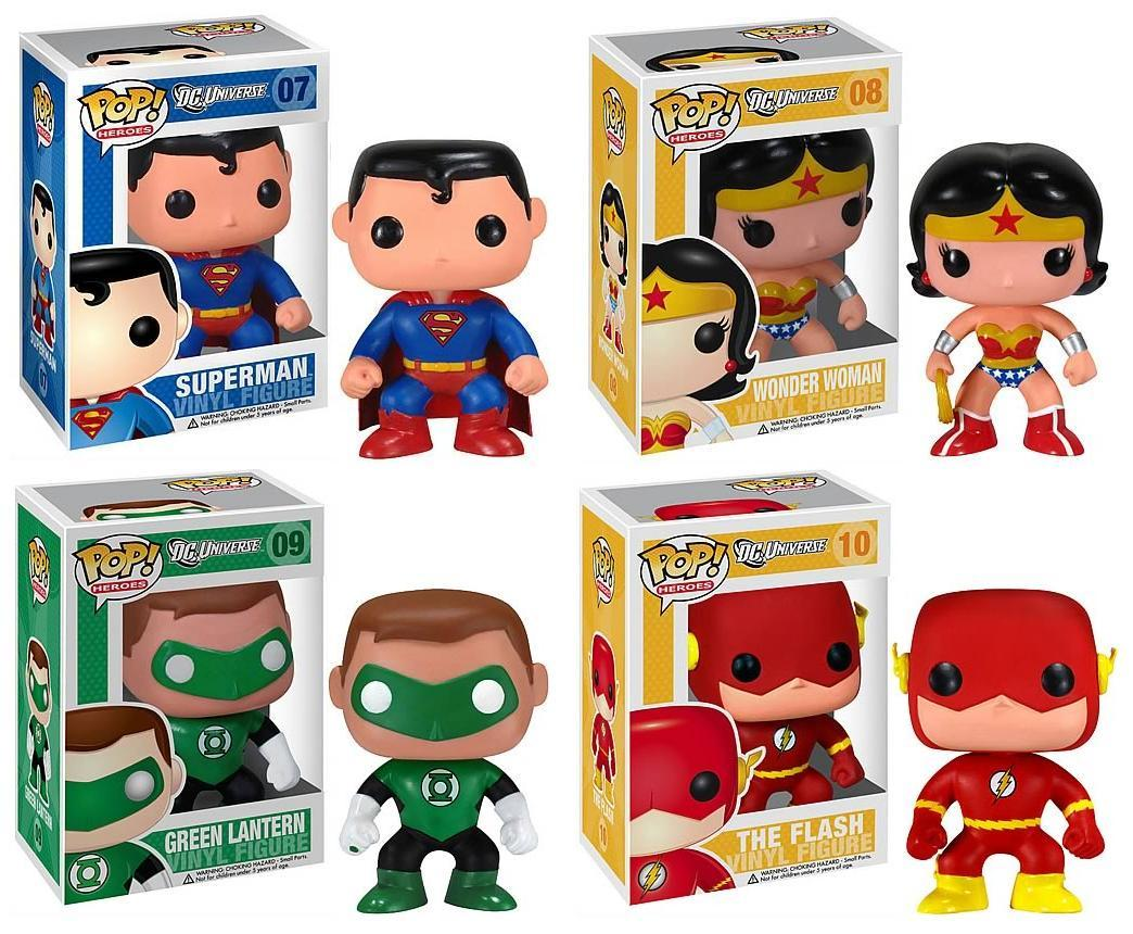 Goodies Dc Universe Pop Heroes Batman Green Lantern
