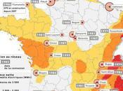 Mashup centrales #nucléaires zonage sismique France Liaisons dangereuses #Fessenheim