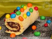 Biscuit roulé Nutella m&m's