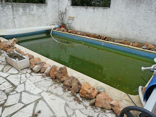 Remplissage du bassin de nage et test des circuits de for Piscine orsole