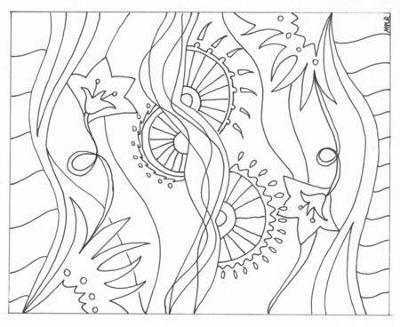 Mandala coloriage paperblog - Coloriage fille 10 ans ...