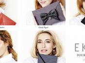 femmes influentes, pochettes, styles pour marque: Ekyog