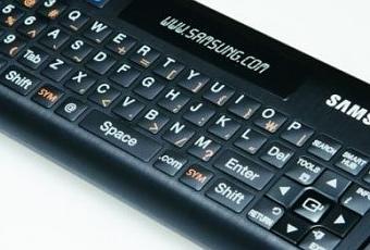 un clavier pour les tv connect es de samsung paperblog. Black Bedroom Furniture Sets. Home Design Ideas