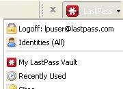 Gérez mots passe avec LastPass
