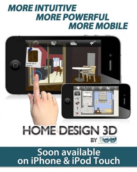 Home design 3d l application d am nagement d int rieur for Application iphone temperature interieur
