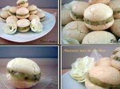 Macarons noix coco kiwi