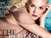 Phénomène étrange Gwen Stefani fait d'un magazine