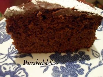 GпїЅteau moelleux orange chocolat