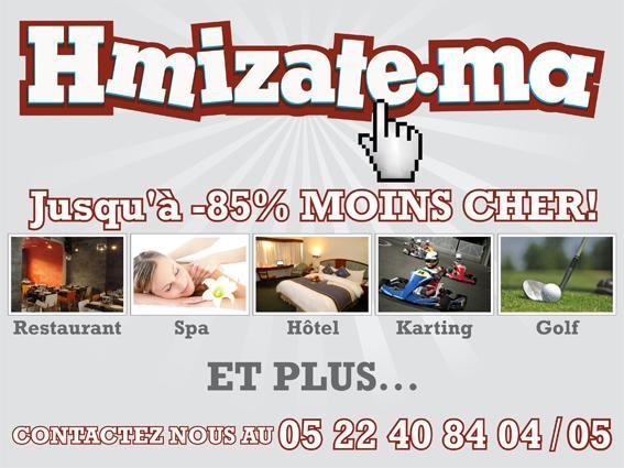 Hmizate.ma : Meilleurs plans à Casablanca et bientôt dans tout villes du Maroc