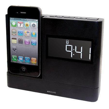 test radio r veil dock iphone ipod kitsound xdock lire. Black Bedroom Furniture Sets. Home Design Ideas