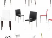 magnifiques chaises cuir design
