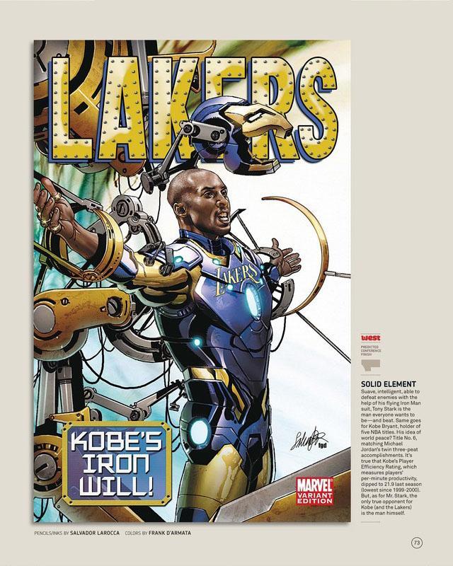 Nuggets X Lakers: Marvel Relook La NBA