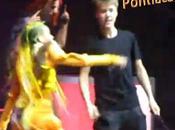 Justin Bieber aime bien chatie (Vidéo)