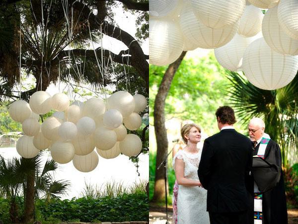 lanternes-papier-ceremonie-jardin-mariage