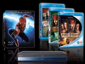 6 Blu Ray Offerts