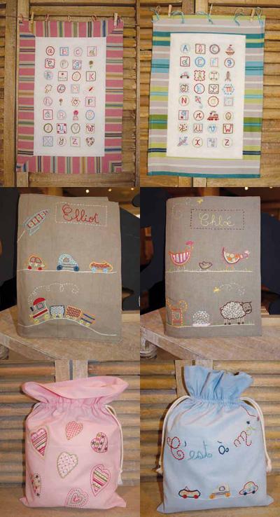 créations pour les enfants