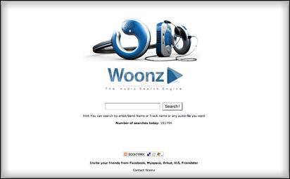 Woonz.com, moteur recherche très spécial...