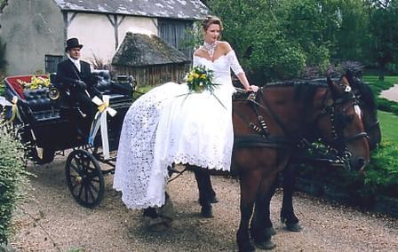 une calche pour votre mariage - Mariage En Caleche