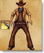 Jeux de cowboy
