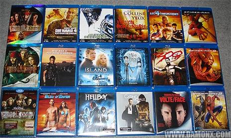 Collection Blu Ray février 2008