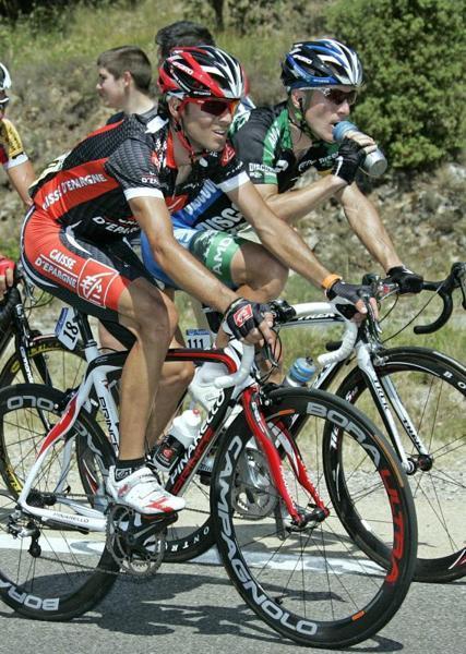 Alejandro Valverde, del equipo Caisse D'Epargne, durante la décima etapa del Tour de Francia disputada entre Tallard y Marsella, con un recorrido de 229 kilómetros - REUTERS - 18/07/2007